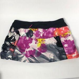 New Lululemon skirt multicolor size 8